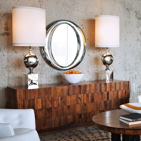 Dekoideen Wohnzimmer Und Moderne Wandgestaltung Mit Spigel In