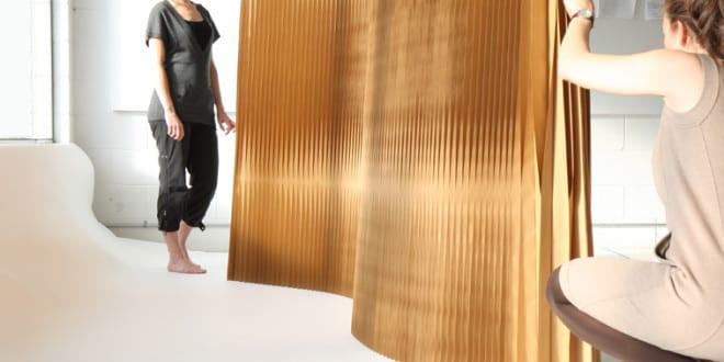 innovative trennw228nde aus papier und coole raumteiler