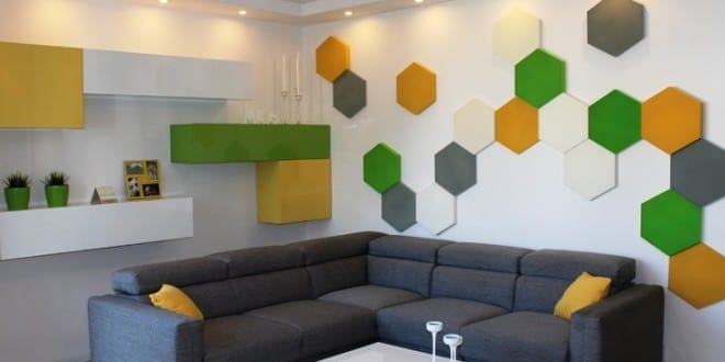 kleines wohnzimmer wohnidee für moderne wandgestaltung und ...