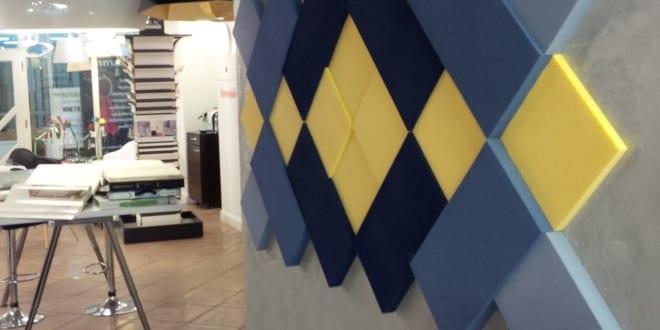 Kreative wohnideen f r moderne wandgestaltung mit blauen for Kreativ moderne wohnideen