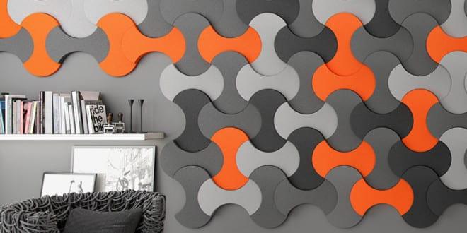 GroBartig Kreative Wohnideen Für Moderne Wandgestaltung Wohnzimmer Und Farbgestaltung  Wände In Orange Und Grau
