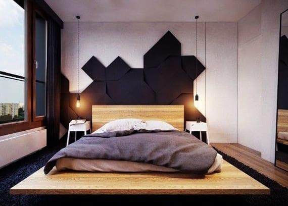 Kreative Wohnideen Schlafzimmer Fur Moderne Wandgestaltung Mit 3d