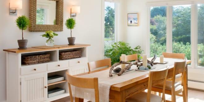 tisch decken mit sackleinwand tischl ufer und tisch kreativ dekorieren mit zweigen und kerzen. Black Bedroom Furniture Sets. Home Design Ideas