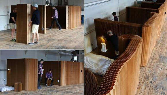 trennw nde aus papier und coole raumteiler ideen mit mobilen trennwandsystemen von molo freshouse. Black Bedroom Furniture Sets. Home Design Ideas
