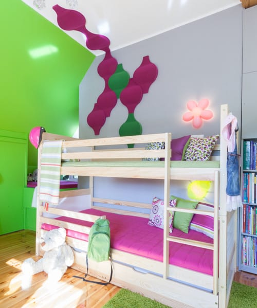 wohnidee f r moderne wandgestaltung und coole kinderzimmer gestaltung freshouse. Black Bedroom Furniture Sets. Home Design Ideas