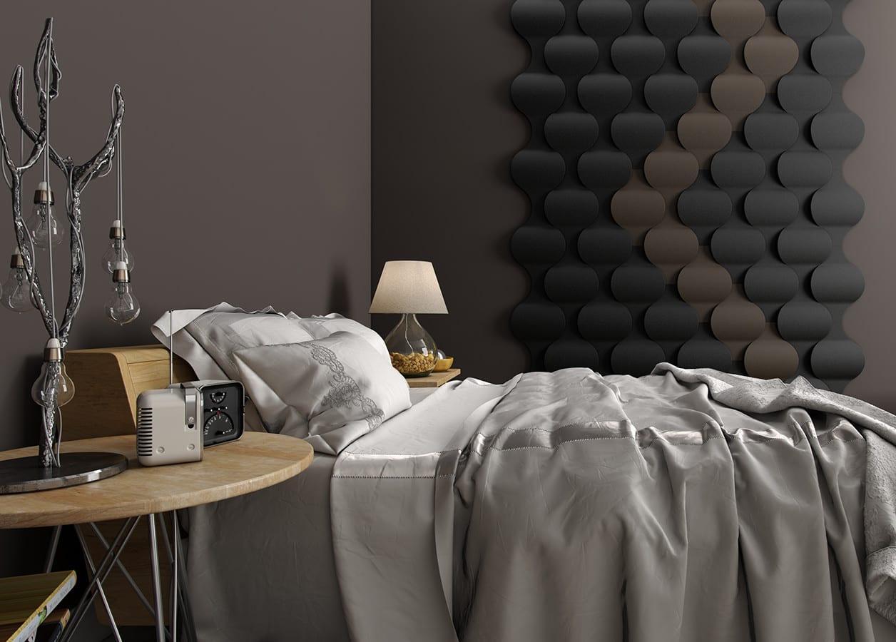 Wohnidee Für Moderne Wandgestaltung Und Farbgestaltung Schlafzimmer Grau