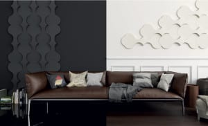 wohnidee für moderne wandgestaltung und farbgestaltung wohnzimmer ...