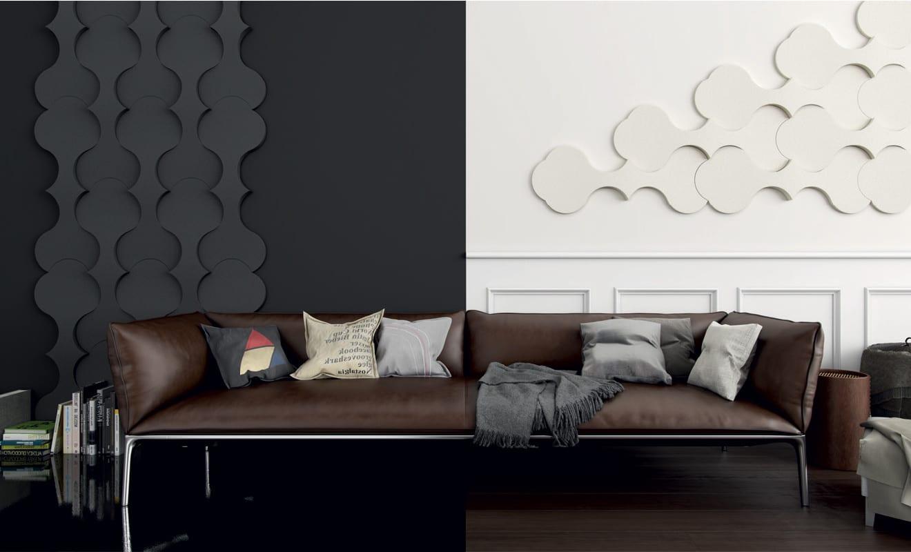 wohnidee f r moderne wandgestaltung und farbgestaltung wohnzimmer schwarz wei freshouse. Black Bedroom Furniture Sets. Home Design Ideas