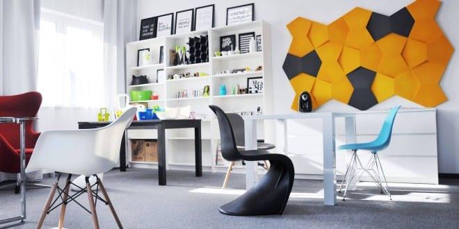 Wohnidee Für Moderne Wandgestaltung Und Farbgestaltung Wohnzimmer Und  Home Office