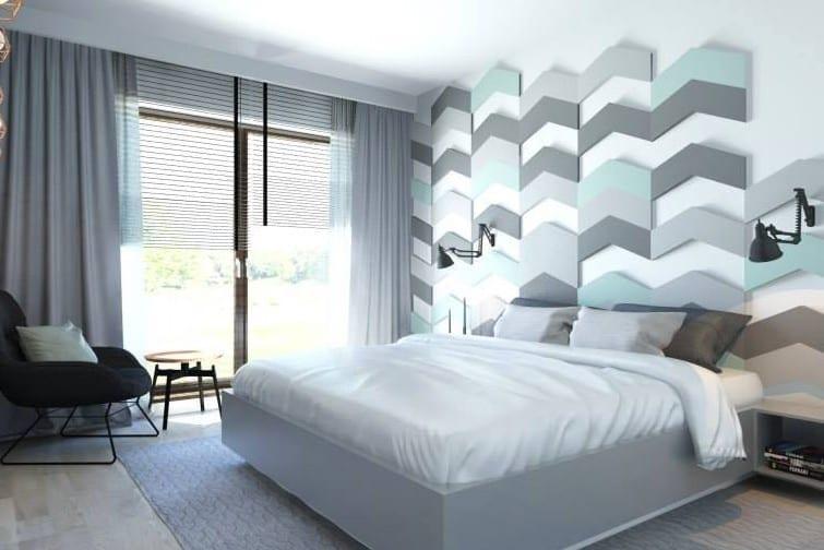Gut Wohnidee Schlafzimmer Für Moderne Wandgestaltung Und Farbgestaltung Wände