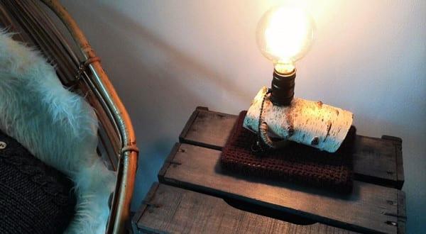 Zweig-Lampe selber bauen oder einfach kaufen