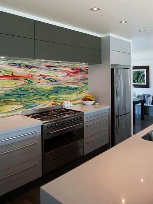 Wandgestaltung Ideen Für Moderne Wandgestaltung Mit Farbe_küche  Wandgestaltung