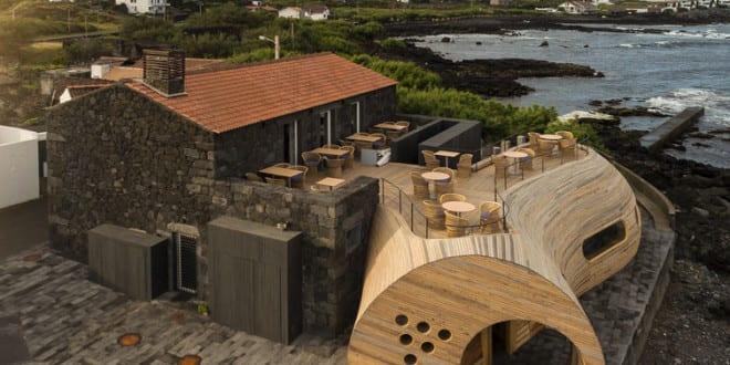 Bauen Mit Holz Restaurant Bar Interieur Und Moderne Architektur