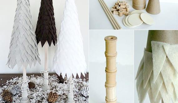 coole bastelideen weihnachten mit filz f r coole deko weihnachten freshouse. Black Bedroom Furniture Sets. Home Design Ideas