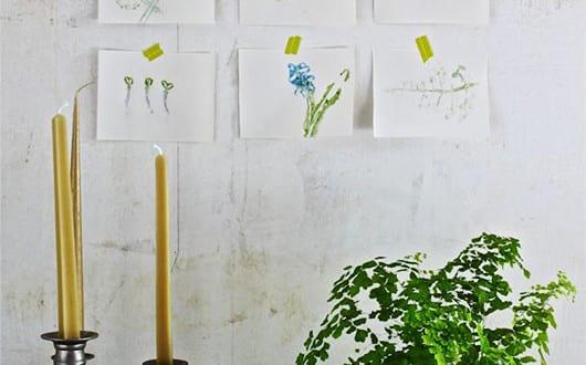 coole herbstdeko basteln mit b ume bl ttern f r moderne wandgestaltung freshouse. Black Bedroom Furniture Sets. Home Design Ideas