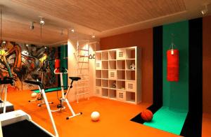 coole raumgestaltung für fitnessraum zuhause