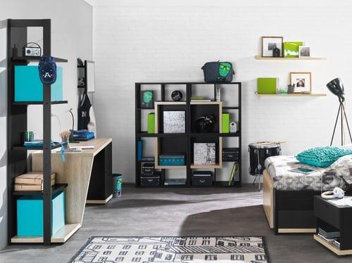 Coole Zimmer Ideen Für Jugedliche Und Kreative Jugendzimmer  Einrichtungsideen In Schwarzweiß