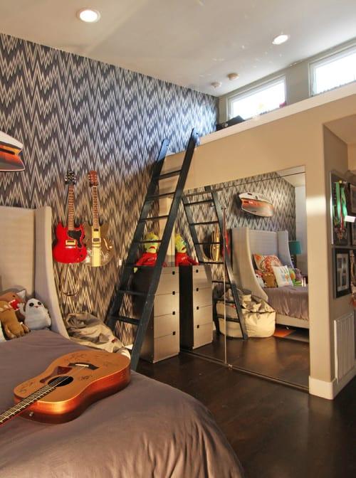 Coole Zimmer Ideen Für Jugendliche Und Interessante Jugendzimmer  Einrichtungsideen Mit Hochbett
