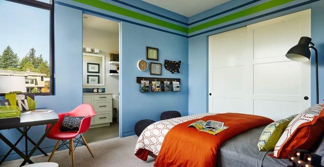 coole zimmer ideen und kreative wandgestaltung mit farbe f r jugendliche freshouse. Black Bedroom Furniture Sets. Home Design Ideas