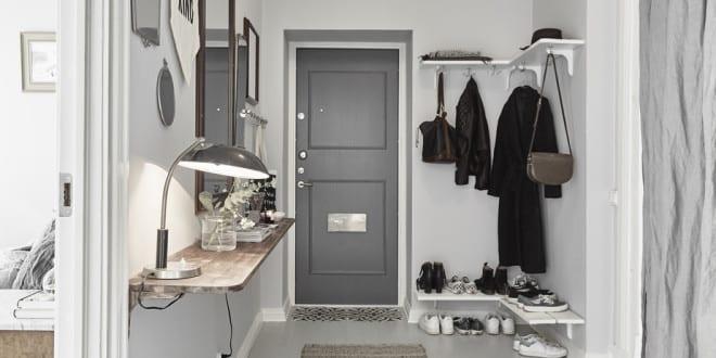 Der kleine Eingangsbereich – 10 kluge Einrichtungsideen