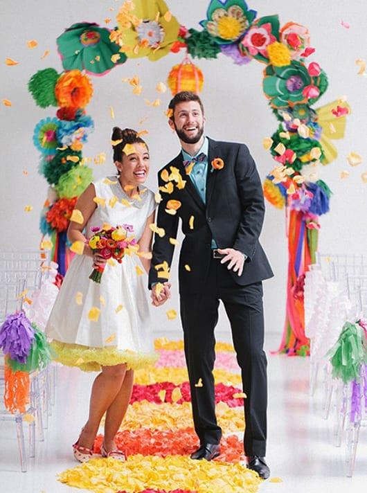Eine Bunte Traumhochzeit Mal Anders Hochzeitsbilder Und Ideen Fur