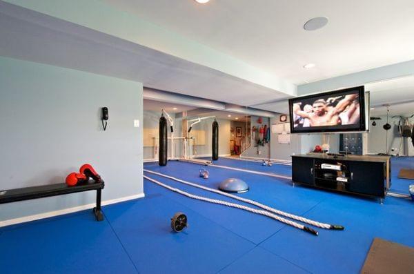 Fitnessraum zuhause einrichten  Awesome Fitnessstudio Zuhause Einrichten Gallery - Globexusa.us ...