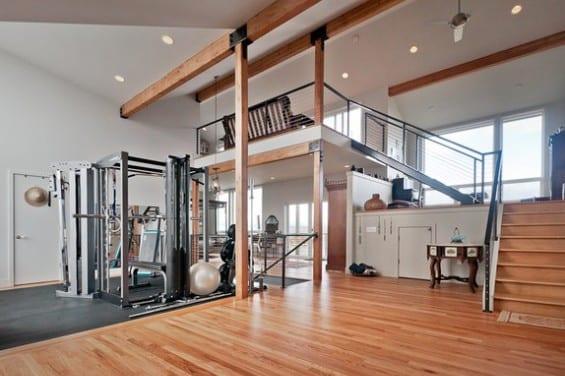 fitnesstudio zu hause einrichten eigener fitnessraum. Black Bedroom Furniture Sets. Home Design Ideas