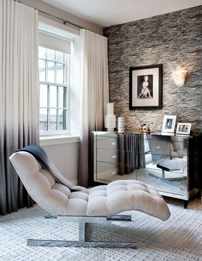 Wunderbar Interior In Weiß Und Grau Als Wohnidee Wohnzimmer_townhouse In Chelsea