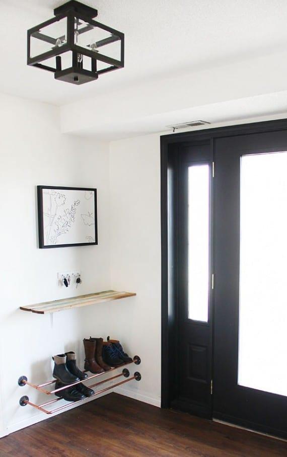 Einrichtungsideen Für Kleine Räume : kleiner eingangsbereich gestalten mit still kluge einrichtungsideen f r kleine r ume freshouse ~ Sanjose-hotels-ca.com Haus und Dekorationen