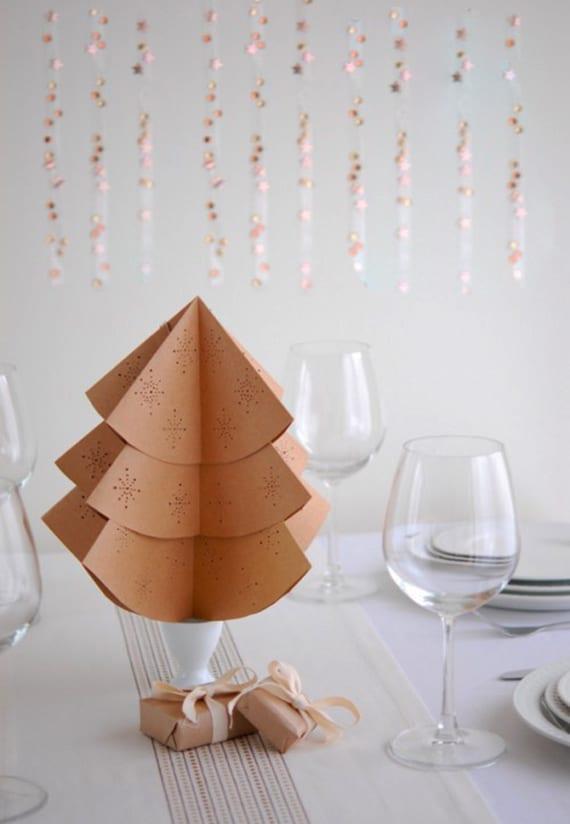 Tischdeko weichnachten weihnachtlich dekorieren mit diy for Jugendzimmer weihnachtlich dekorieren