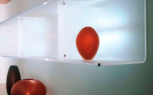 Wandregale f r moderne wandgestaltung mit beleuchteten for Moderne wandregale wohnzimmer