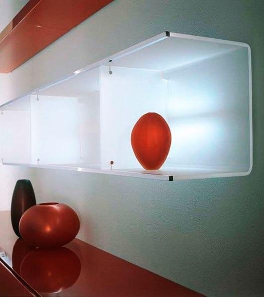 Moderne Kinder Schlafzimmer Finde Designs Und Ideen: Wandregale-für-moderne-wandgestaltung-mit-beleuchteten