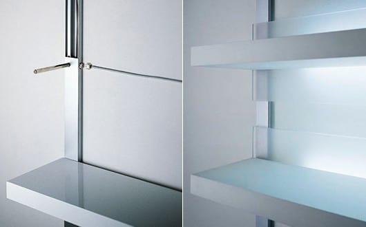 Wandregale f r moderne wandgestaltung mit led regalen und for Moderne wandregale wohnzimmer