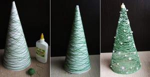 Weihnachtlich dekorieren mit diy weihnachtsbaum coole for Jugendzimmer weihnachtlich dekorieren