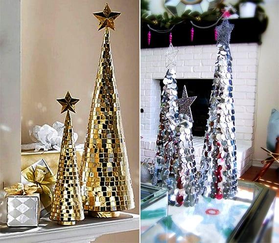 weihnachtlich dekorieren bastelideen f r coole deko weihnachten und diy weihnachtsbaum freshouse. Black Bedroom Furniture Sets. Home Design Ideas