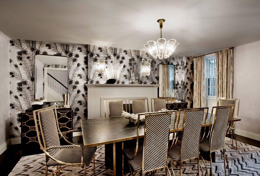 Wohnidee f r modernes interieur im esszimmer mit esstisch for Esstisch aus marmor
