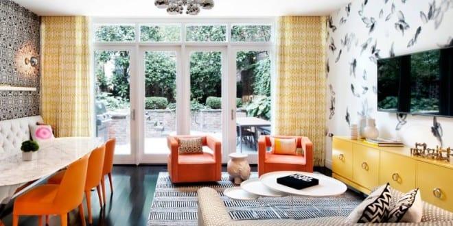 Wohnidee Für Ein Buntes Und Modernes Interieur