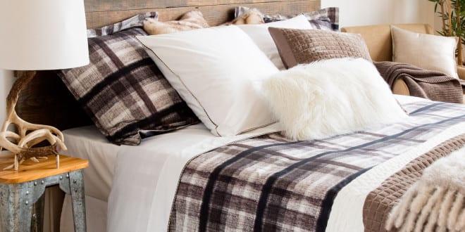 Zara Home Zum Schlafzimmer Einrichten In Landhausstil Mit Bett Aus