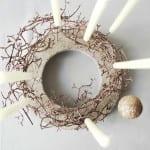 bastelideen weihnachten und coole weihnachtsdeko selber machen aus beton