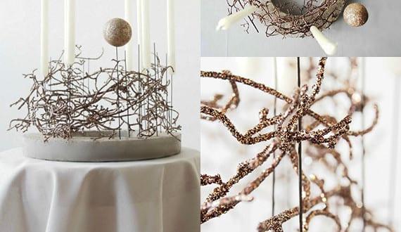 basteln mit beton kreative bastelideen weihnachten f r weihnachtsdeko zum selber machen freshouse. Black Bedroom Furniture Sets. Home Design Ideas