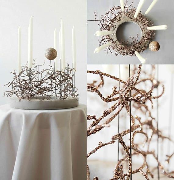 Basteln mit beton kreative bastelideen weihnachten f r weihnachtsdeko zum selber machen freshouse - Design weihnachtsdeko ...