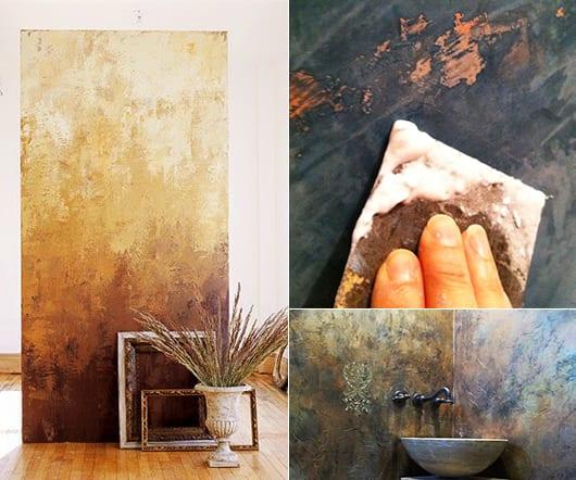 Wand Streichen Ideen Flur: Coole-wand-streichen-ideen-für-moderne-wandgestaltung-mit