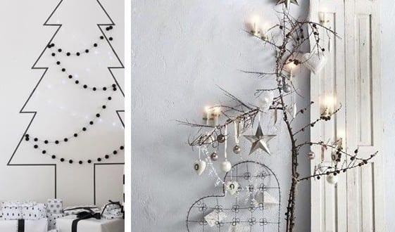 Alternative Zum Weihnachtsbaum dekoideen für schöne und frohe weihnachten mit kreativen