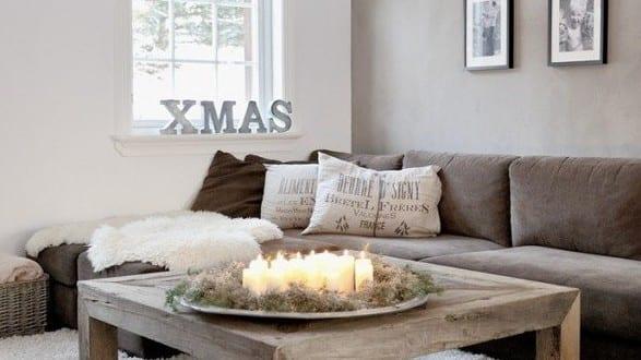 Dekoideen weihnachten f r coole tischdeko mit kerzen freshouse - Coole tischdeko ...