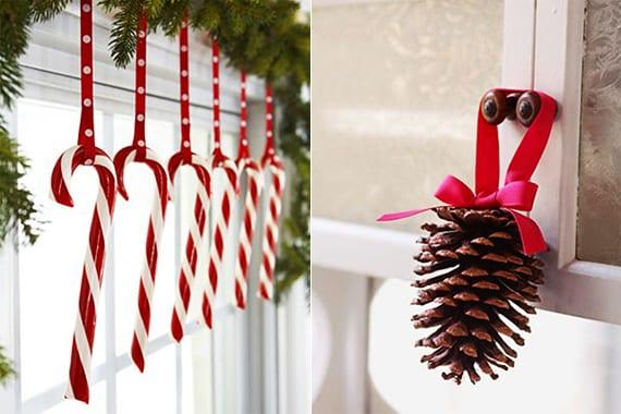 dekoideen weihnachten mit zapfen weihnachtlich dekorieren f r sch ne und frohe weihnachten. Black Bedroom Furniture Sets. Home Design Ideas