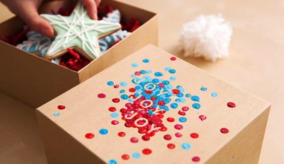 Geschenk Verpacken Idee