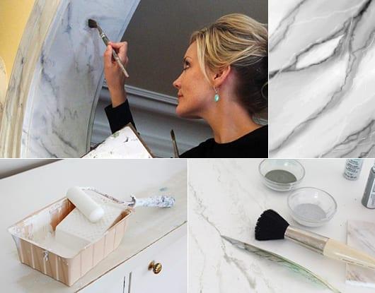 Interessante wand streichen ideen und techniken f r for Wand streichen ideen kuche