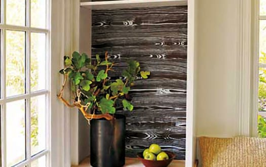 Kreative wand streichen ideen und techniken f r w nde in holzoptik freshouse - Wand streichen techniken ...