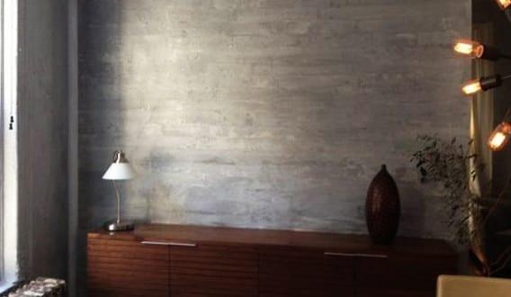 beton streichen wand ideen fa 1 4 r moderne wandgestaltung mit wandfarbe grundieren
