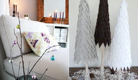 weihnachtsdeko ideen f r weihnachtsdeko selber basteln freshouse. Black Bedroom Furniture Sets. Home Design Ideas